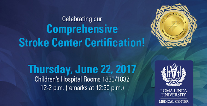 Celebrate our certification as Comprehensive Stroke Center :: News ...