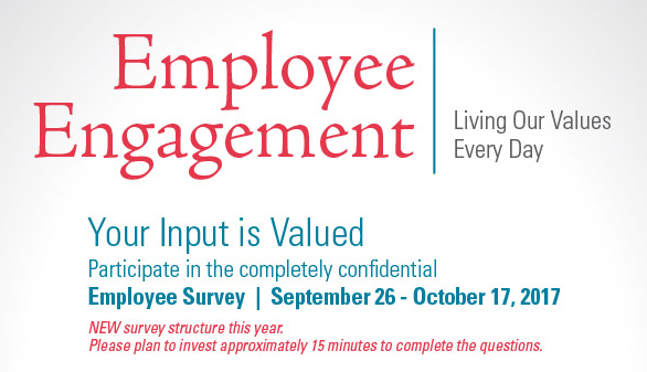 Invitations emailed for Employee Engagement Survey :: News