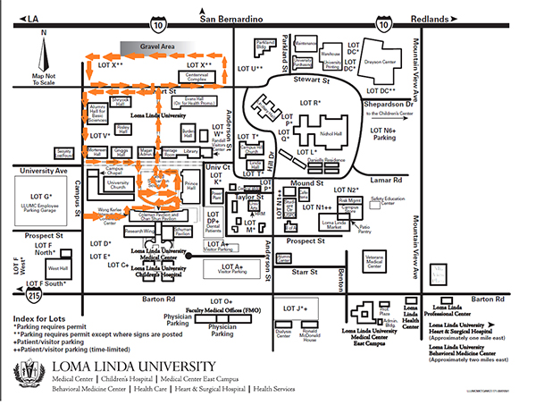 Loma Linda University Campus Map | autobedrijfmaatje